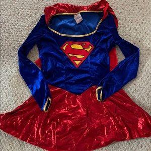 Supergirl Halloween Costume Size Large